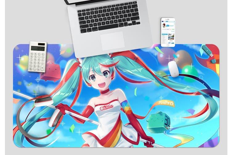 3D Hatsune Miku 276 Anime Desk Mat, W80cmxH40cm(21''x16'')