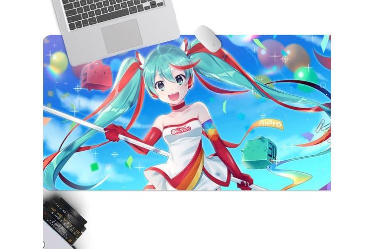 3D Hatsune Miku 276 Anime Desk Mat, W90cmxH40cm(35''x18'')