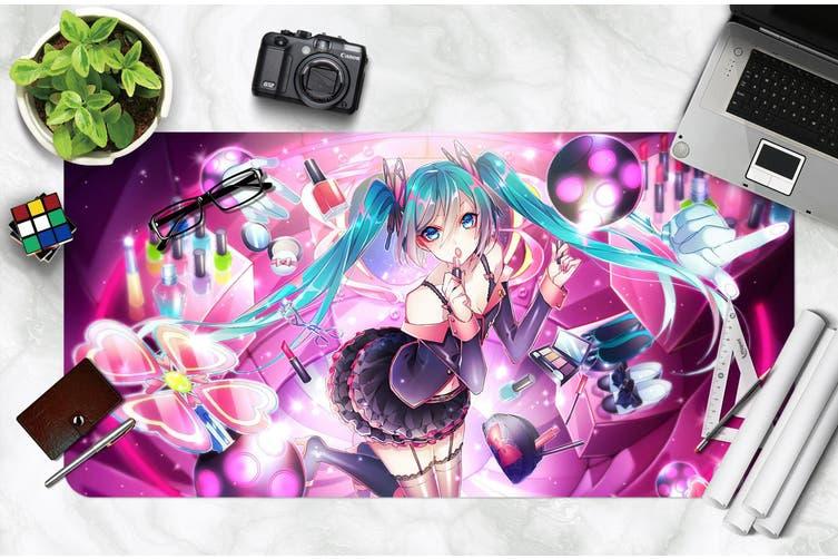 3D Hatsune Miku 275 Anime Desk Mat, W80cmxH40cm(21''x16'')