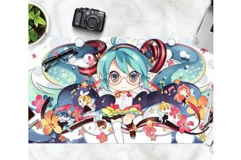 3D Hatsune Miku 274 Anime Desk Mat, W90cmxH40cm(35''x18'')
