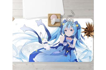 3D Hatsune Miku 270 Anime Desk Mat, W90cmxH40cm(35''x18'')