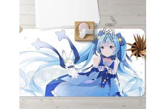 3D Hatsune Miku 270 Anime Desk Mat, W120cmxH60cm(47''x24'')