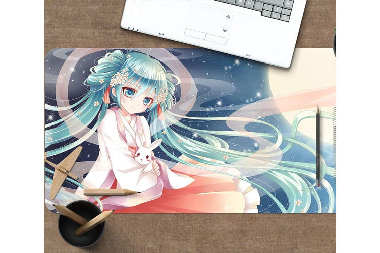 3D Hatsune Miku 269 Anime Desk Mat, W60cmxH30cm(24''x12'')