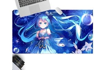 3D Hatsune Miku 267 Anime Desk Mat, W80cmxH40cm(21''x16'')