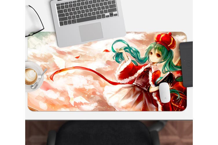 3D Hatsune Miku 264 Anime Desk Mat, W60cmxH30cm(24''x12'')