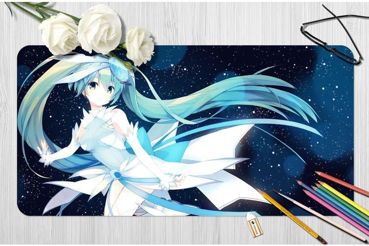 3D Hatsune Miku 263 Anime Desk Mat, W60cmxH30cm(24''x12'')