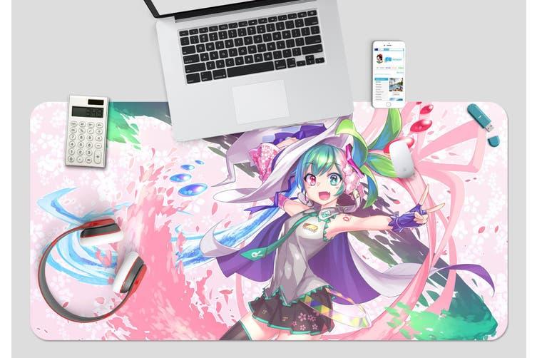 3D Hatsune Miku 255 Anime Desk Mat, W90cmxH40cm(35''x18'')