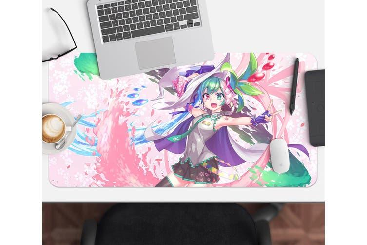 3D Hatsune Miku 255 Anime Desk Mat, W120cmxH60cm(47''x24'')