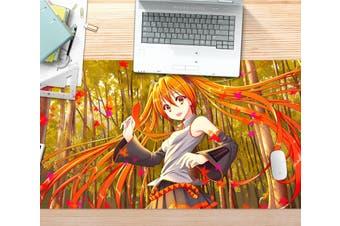 3D Hatsune Miku 254 Anime Desk Mat, W90cmxH40cm(35''x18'')