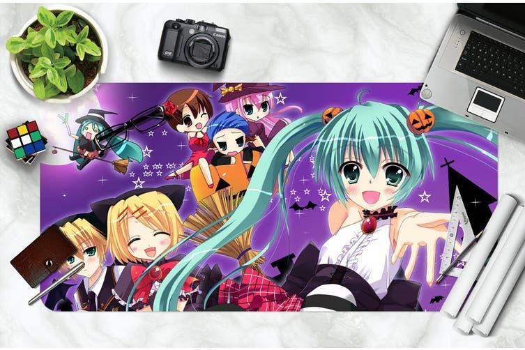 3D Hatsune Miku 249 Anime Desk Mat, W90cmxH40cm(35''x18'')