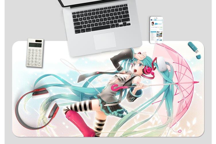 3D Hatsune Miku 246 Anime Desk Mat, W80cmxH40cm(21''x16'')