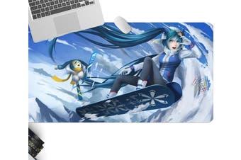 3D Hatsune Miku 244 Anime Desk Mat, W120cmxH60cm(47''x24'')