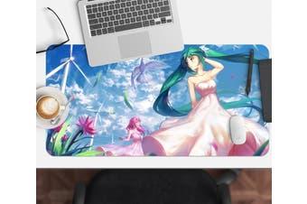 3D Hatsune Miku 240 Anime Desk Mat, W80cmxH40cm(21''x16'')