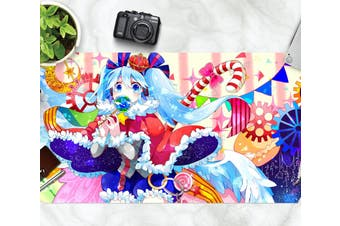 3D Hatsune Miku 238 Anime Desk Mat, W60cmxH30cm(24''x12'')