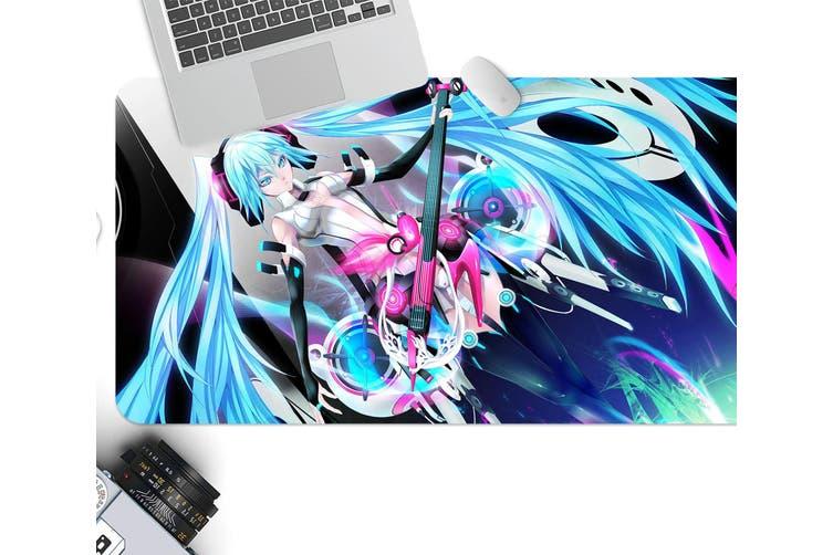 3D Hatsune Miku 234 Anime Desk Mat, W80cmxH40cm(21''x16'')