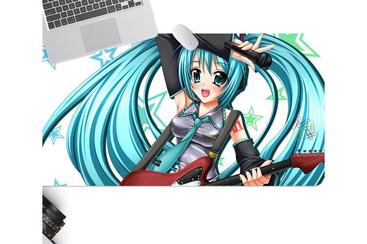 3D Hatsune Miku 231 Anime Desk Mat, W80cmxH40cm(21''x16'')