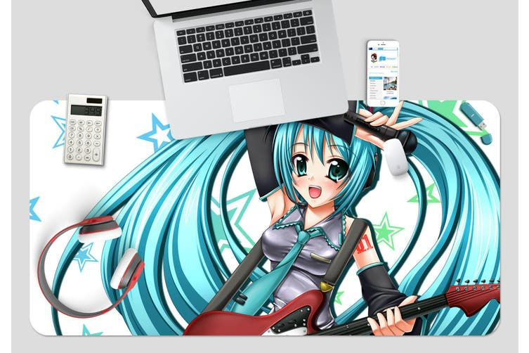 3D Hatsune Miku 231 Anime Desk Mat, W90cmxH40cm(35''x18'')