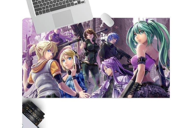 3D Hatsune Miku 229 Anime Desk Mat, W60cmxH30cm(24''x12'')