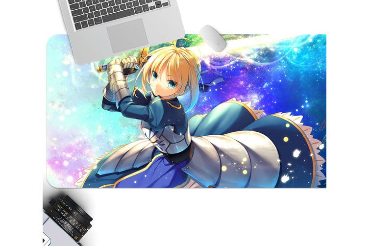 3D Fate Stay Night 225 Anime Desk Mat, W60cmxH30cm(24''x12'')