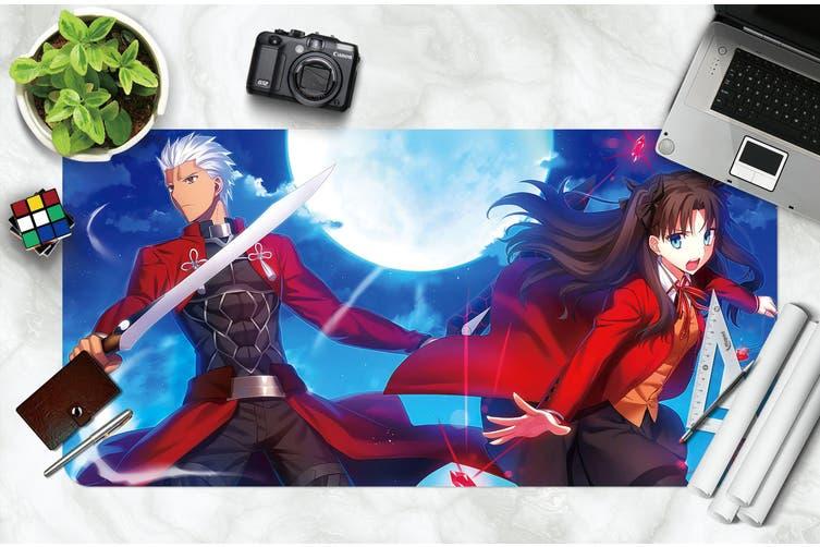 3D Fate Stay Night 223 Anime Desk Mat, W80cmxH40cm(21''x16'')