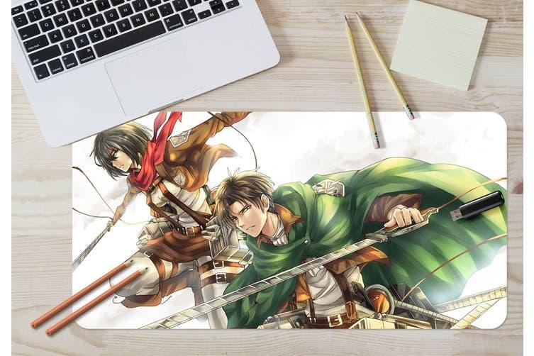 3D Attack On Titan 216 Anime Desk Mat, W80cmxH40cm(21''x16'')