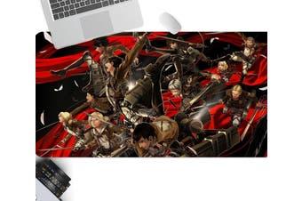 3D Attack On Titan 215 Anime Desk Mat, W120cmxH60cm(47''x24'')