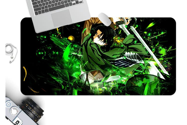 3D Attack On Titan 214 Anime Desk Mat, W60cmxH30cm(24''x12'')