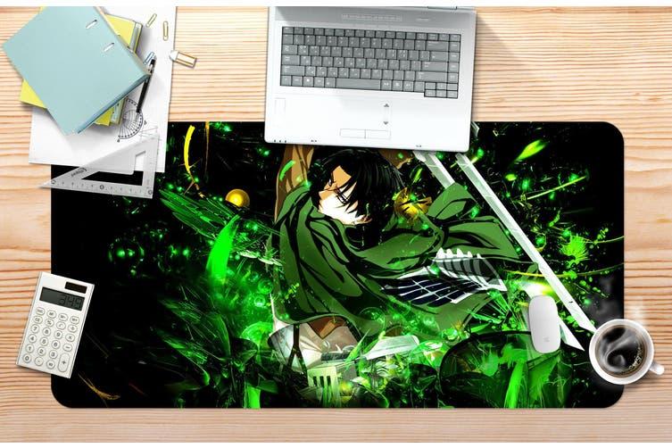 3D Attack On Titan 214 Anime Desk Mat, W90cmxH40cm(35''x18'')
