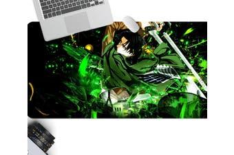 3D Attack On Titan 214 Anime Desk Mat, W120cmxH60cm(47''x24'')