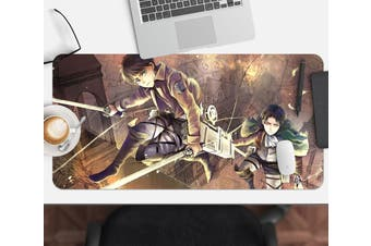 3D Attack On Titan 212 Anime Desk Mat, W90cmxH40cm(35''x18'')