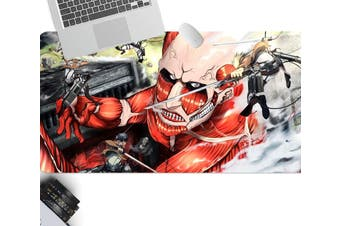 3D Attack On Titan 210 Anime Desk Mat, W120cmxH60cm(47''x24'')
