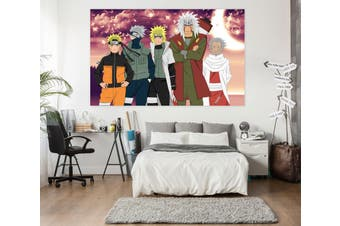 3D Naruto 214 Anime Wall Stickers