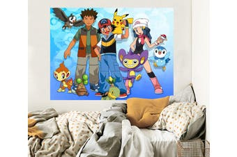 3D Pokemon 576 Anime Wall Stickers