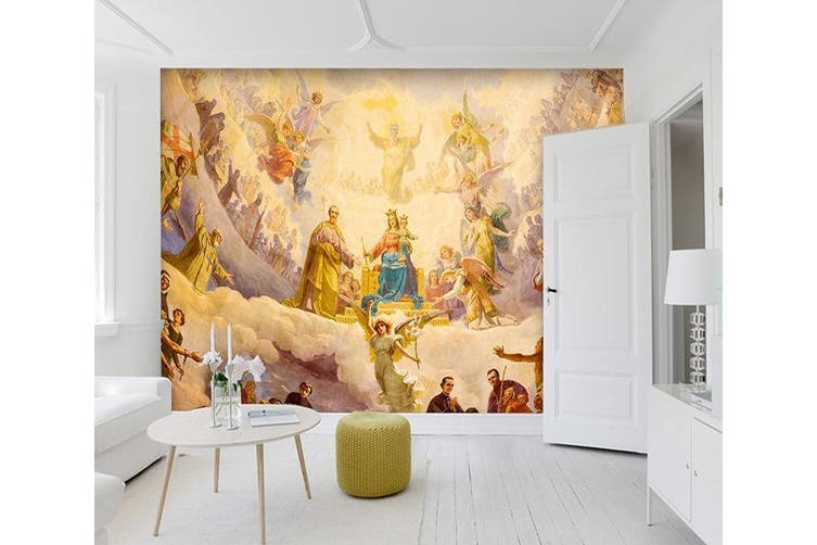 3D Throne Cloud 189 Woven paper (need glue), XXXXL 520cm x 290cm (WxH)(205''x114'')