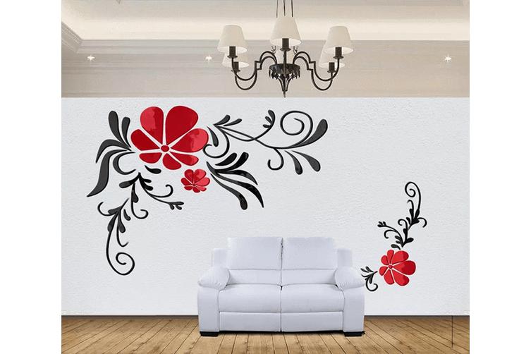 3D Diagonal Flower 1565 Woven paper (need glue), XXXXL 520cm x 290cm (WxH)(205''x114'')