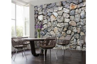 3D Original Stone Wall 012 Wall Murals Woven paper (need glue) Wallpaper Murals