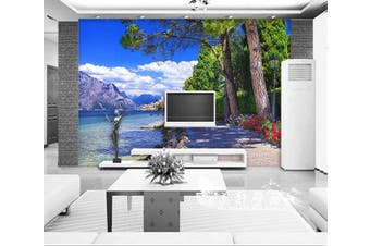 Lakeside Wall Murals Wallpaper Murals Self-adhesive Vinyl