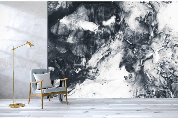 3D Black & White Abstract 285 Wall Murals Wallpaper Murals Self-adhesive Vinyl, XXXXL 520cm x 290cm (WxH)(205''x114'')