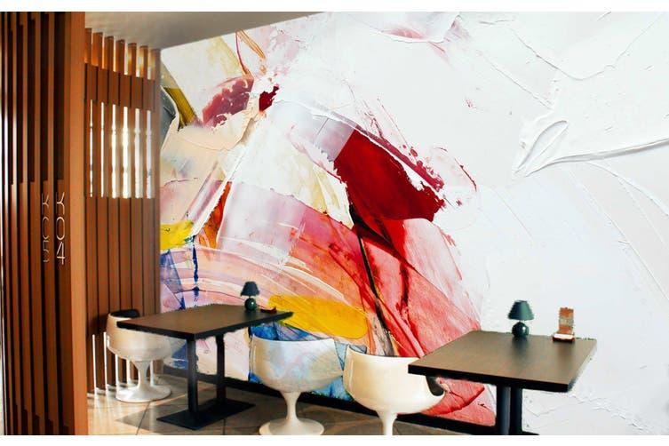 3D Abstract Paint 253 Wall Murals Wallpaper Murals Woven paper (need glue), XXL 312cm x 219cm (WxH)(123''x87'')