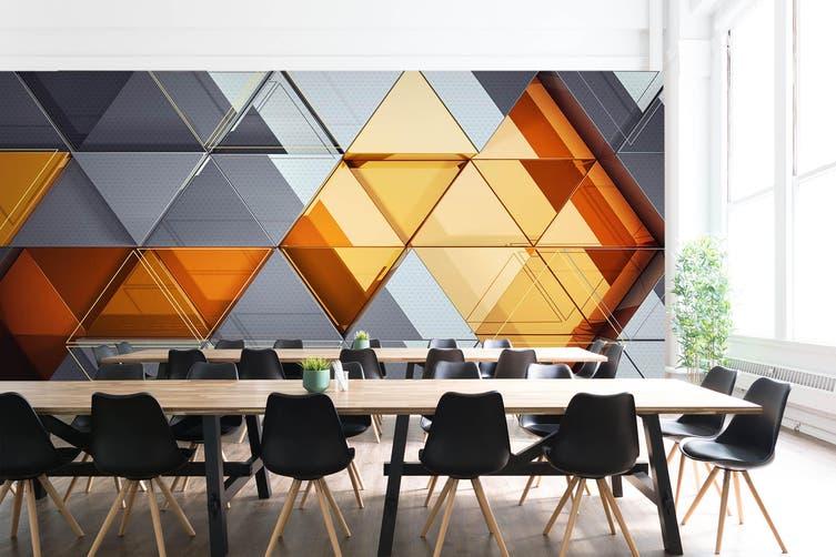 3D Business Office 45 Wall Murals Wallpaper Murals Woven paper (need glue), XL 208cm x 146cm (WxH)(82''x58'')