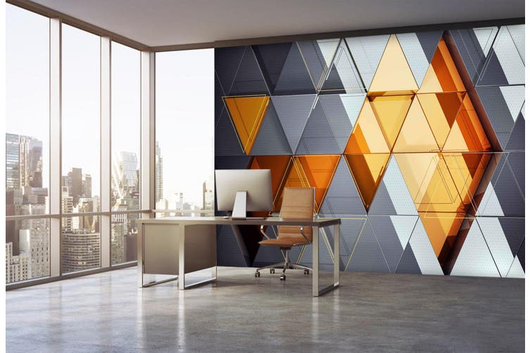 3D Business Office 45 Wall Murals Wallpaper Murals Self-adhesive Vinyl, XXXL 416cm x 254cm (WxH)(164''x100'')