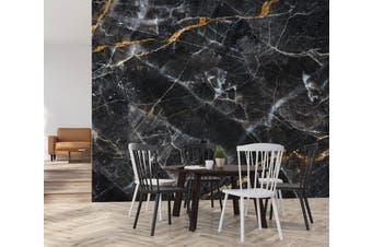 3D Black Marbling Texture 67 Wall Murals Wallpaper Murals Self-adhesive Vinyl, XL 208cm x 146cm (WxH)(82''x58'')