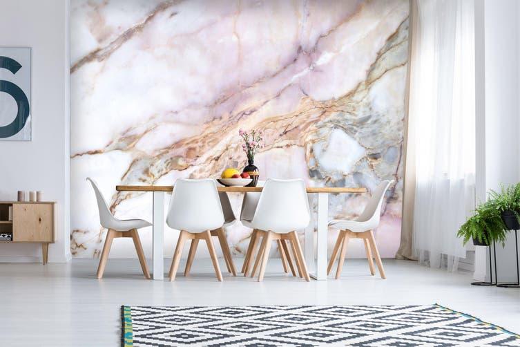 3D Light Marbling Texture 025 Wall Murals Wallpaper Murals Self-adhesive Vinyl, XXXXL 520cm x 290cm (WxH)(205''x114'')