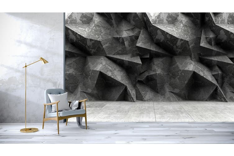 3D Stone Texture 062 Wall Murals Wallpaper Murals Self-adhesive Vinyl, XXXXL 520cm x 290cm (WxH)(205''x114'')