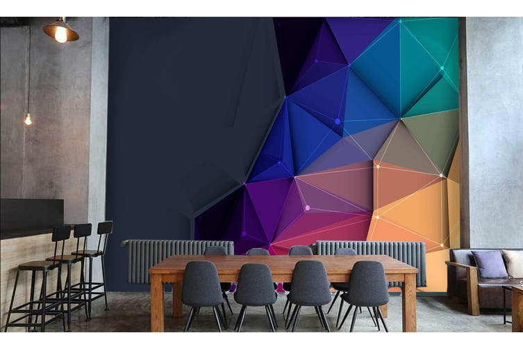 3D Business Office 022 Wall Murals Wallpaper Murals Woven paper (need glue), XXL 312cm x 219cm (WxH)(123''x87'')