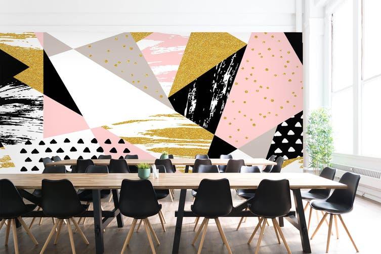 3D Business Office 012 Wall Murals Wallpaper Murals Woven paper (need glue), XL 208cm x 146cm (WxH)(82''x58'')