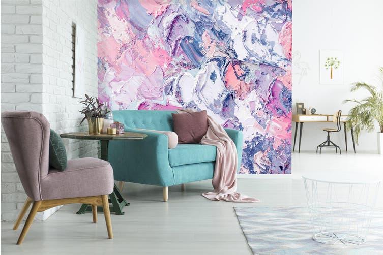 3D Abstract Art Paint 048 Wall Murals Wallpaper Murals Woven paper (need glue), XXXL 416cm x 254cm (WxH)(164''x100'')