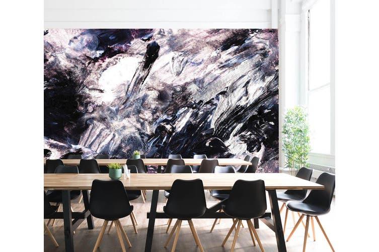 3D Black & White Paint 098 Wall Murals Wallpaper Murals Woven paper (need glue), XXL 312cm x 219cm (WxH)(123''x87'')