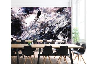 3D Black & White Paint 098 Wall Murals Wallpaper Murals Woven paper (need glue), XXXL 416cm x 254cm (WxH)(164''x100'')