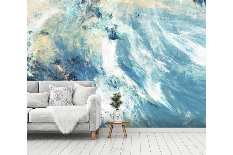 3D Icy Clouds 088 Wall Murals Wallpaper Murals Self-adhesive Vinyl, XXXXL 520cm x 290cm (WxH)(205''x114'')